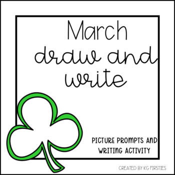 March Draw and Write