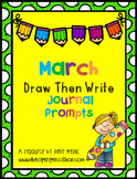 March Draw and Write Journal Prompts