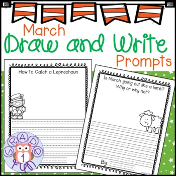 March Draw and Write Prompts
