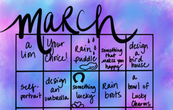 March Drawing Calendar