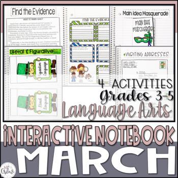 ELA Interactive Notebook March