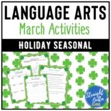 March Language Arts Activities