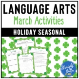March Language Arts Activities