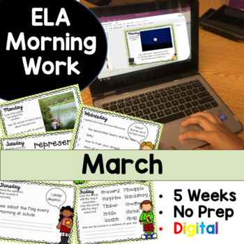 March Morning Work Google Drive Digital Edition