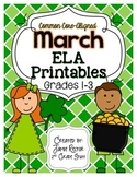 March ELA Printables | Aligned to Common Core Standards