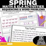March ELA and Math Activities