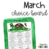 March Early Finishers Choice Board