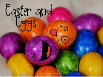 March Easter and Eggs Vocabulary Lesson Plans