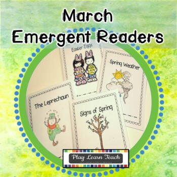 March Emergent Readers