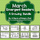 March Emergent Readers and Response Activities