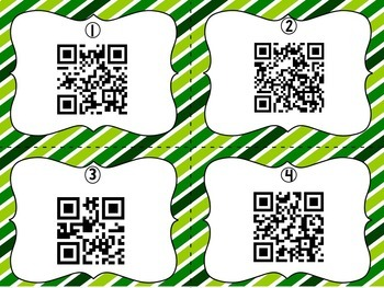 March Encyclopedia Research Task Cards with Self-Checking QR Codes