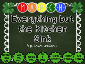 March: Everything But the Kitchen Sink {All You Need for March!}