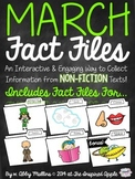 March Fact Files: Collecting Information from Nonfiction Text