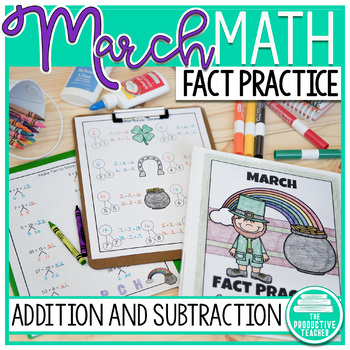 March Fact Practice: Addition and Subtraction