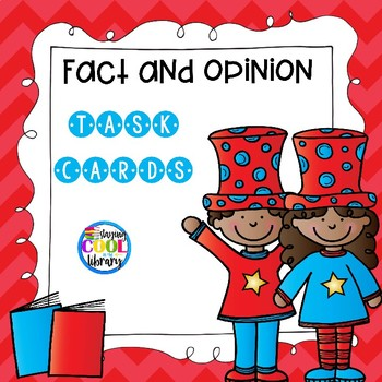 March Fact and Opinion Task Cards
