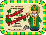 March Feast Day Catholic Saint Poster - Saint Patrick