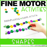 March Fine Motor Activities with Shapes