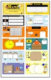 1st Grade March SMARTBoard Common Core Calendar Math