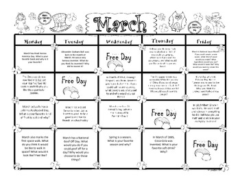 first grade narrative writing prompts