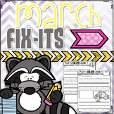 March Fix-It Sentences With Powerpoint