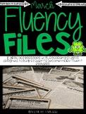 March Fluency Files