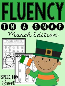 March: Fluency In a Snap {Stuttering}