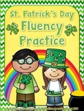 St. Patrick's Day Fluency Practice Pack