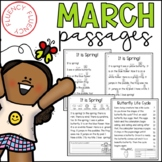 March Fluency Passages (Differentiated)