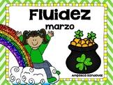 March Fluency Passages in Spanish Fluidez de marzo