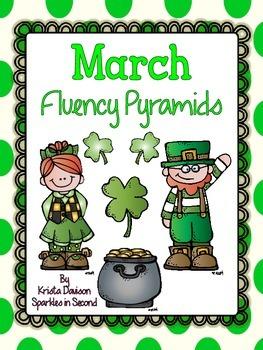 March Fluency Pyramids