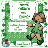 March Folktales and Legends Non-Fiction Passages and Task Cards