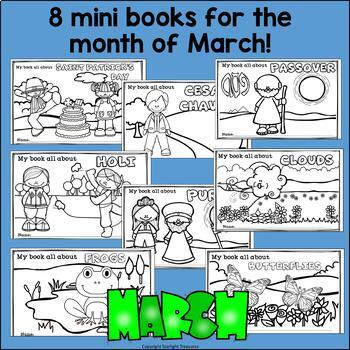 March Fun Bundle: St. Patrick's Day, Passover, Holi, Clouds, & More!