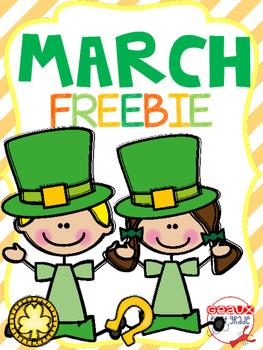 March Fun Freebie