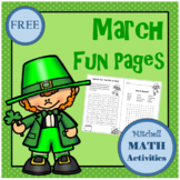 March Fun Pages