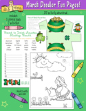 March Fun Pages - Coloring and Activity Download - Distanc