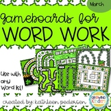 March Game Boards for ANY Word List!