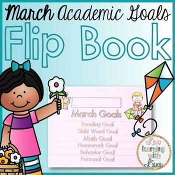 March Goals Flip Book