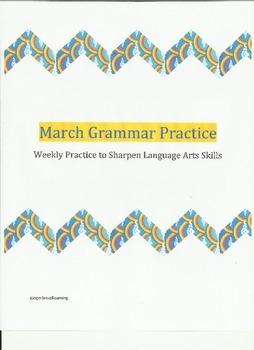 March Grammar Practice
