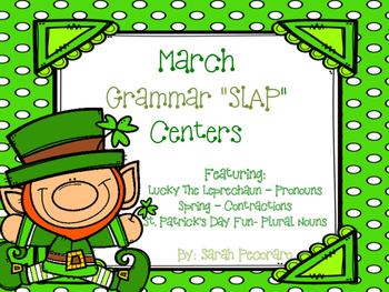 March Grammar SLAP Centers
