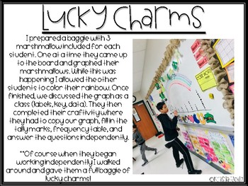 #luckyshamrocks March Graphs {dot plot, frequency table, tally marks}