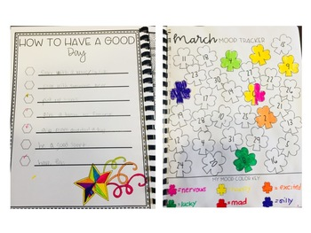 March Gratitude Journal for Kids