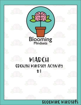 Growth Mindset -March Activities