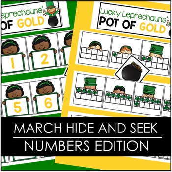 March Hide and Seek - Numbers Edition