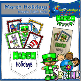March Holidays Interactive Foldable Booklet