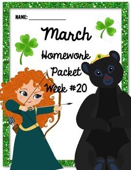 Homework Packet 20