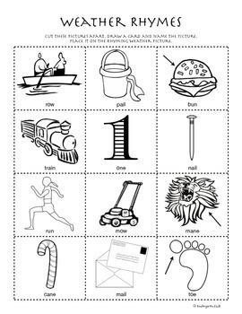 March Homework Packet: Preschool