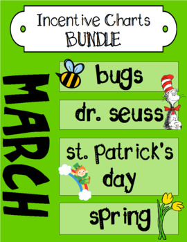 March Incentive Chart BUNDLE