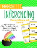 March Inferencing Task Cards