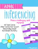 April Inferencing Task Cards