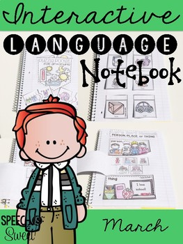 March Interactive Language Notebook